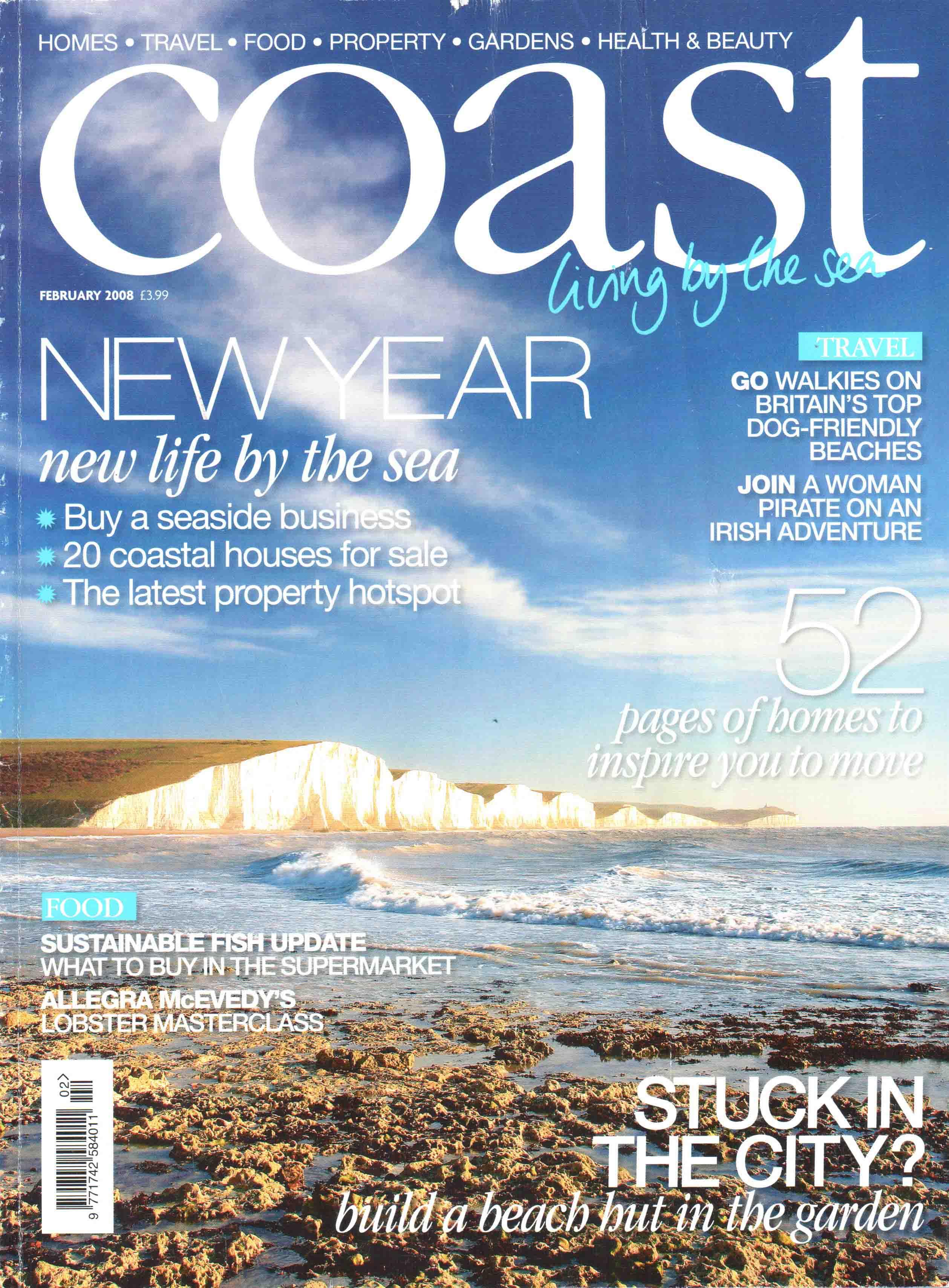 Coast Magazine Feb 2008 Starvecrow Cottage